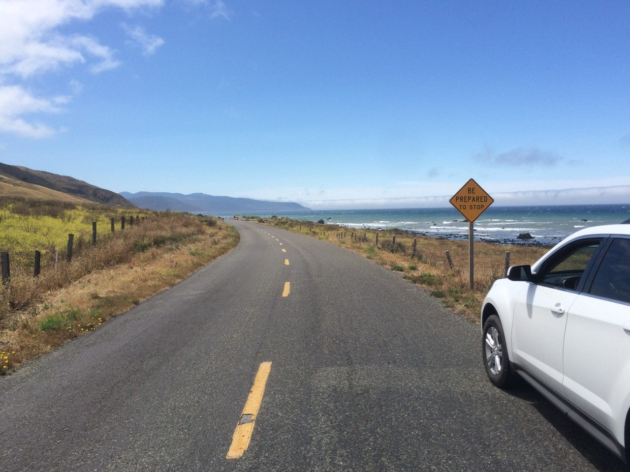 Seattle to San Francisco, The Pacific Coast Highway