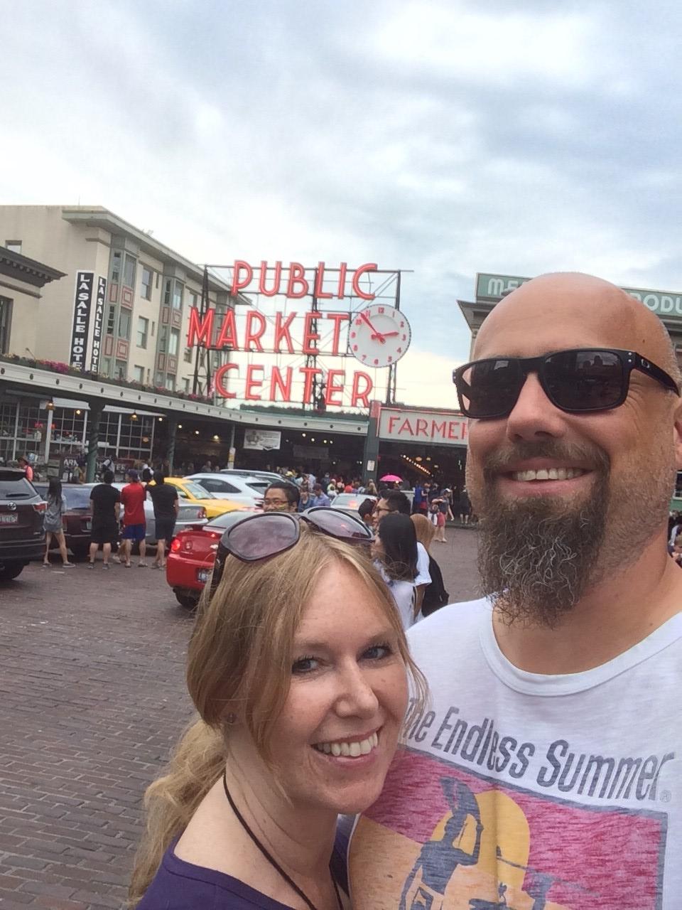 Seattle, grunge, coffee andsunshine!