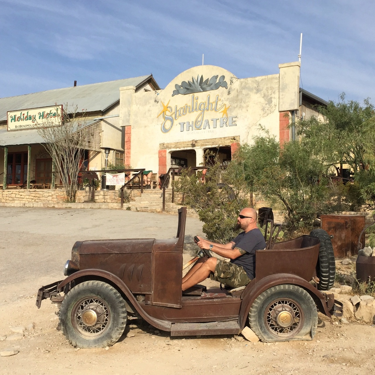 The Texas Traverse From El Paso to Terlingua Ghost Town, Big Bend National Park, Fredericksburg and Austin