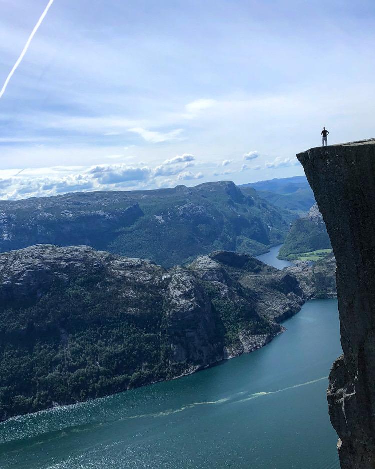 Pulpit rock (Preikestolen) –Norway