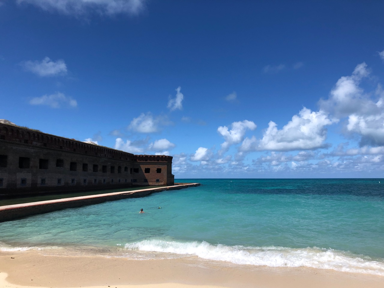 Dry Tortugas, Florida, the least visited national park inUSA