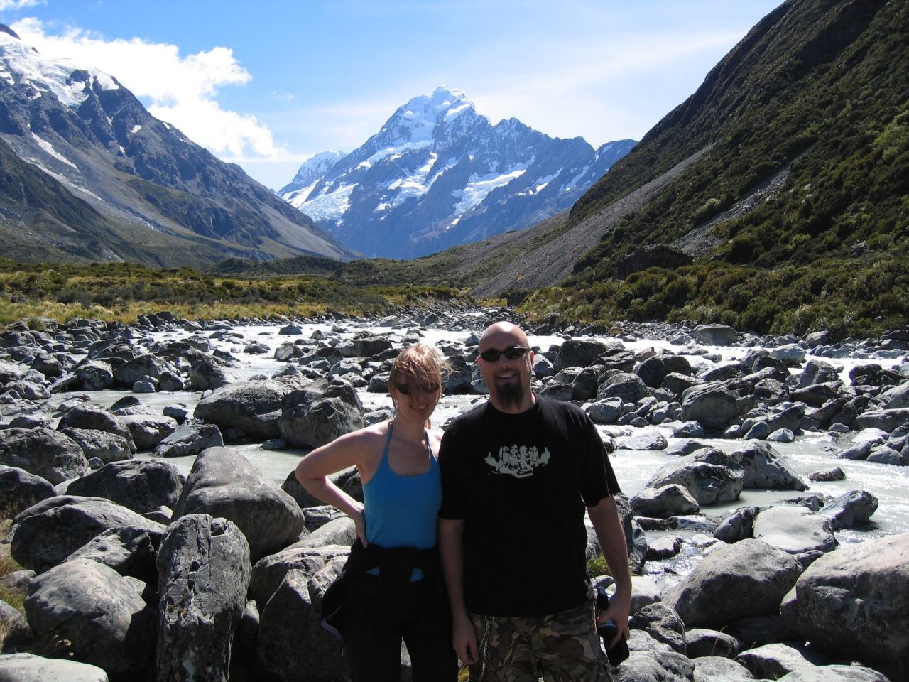 South Island, New Zealand, e aroha ana ahau ki akoe!