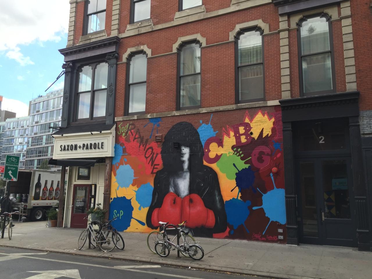 New York's Bleecker Street, a cool cross section of the BigApple