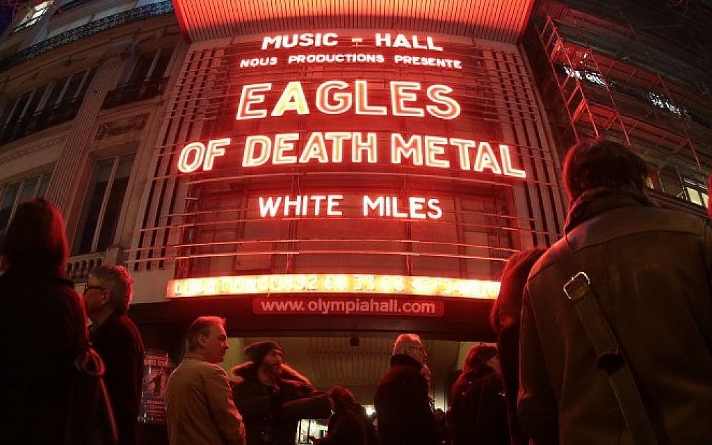 Eagles Of Death Metal at L'Olympia, Paris, 16th February 2016