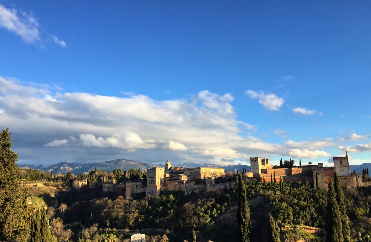 Alhambra Palace and Fortress Complex, Granada, Spain