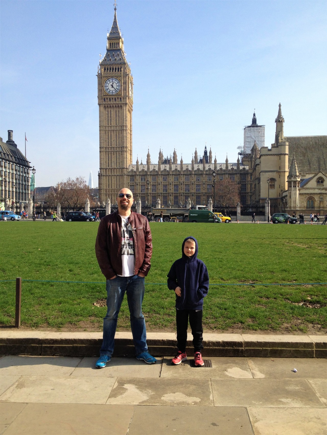 London for 8 year olds, a brief guide from uncle and auntie