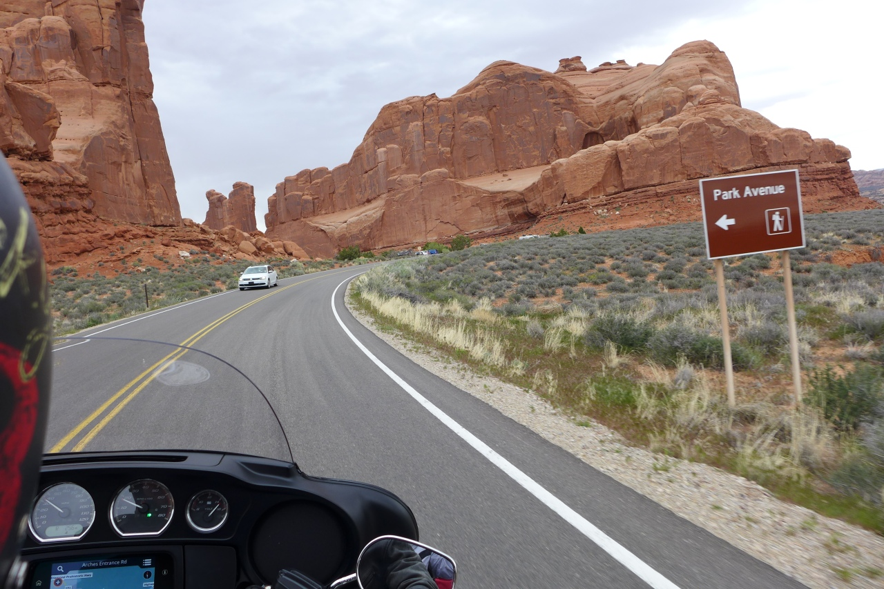 Harley Davidson Roadtripping from Monument Valley via Arches National Park and Mesa Verde to Durango