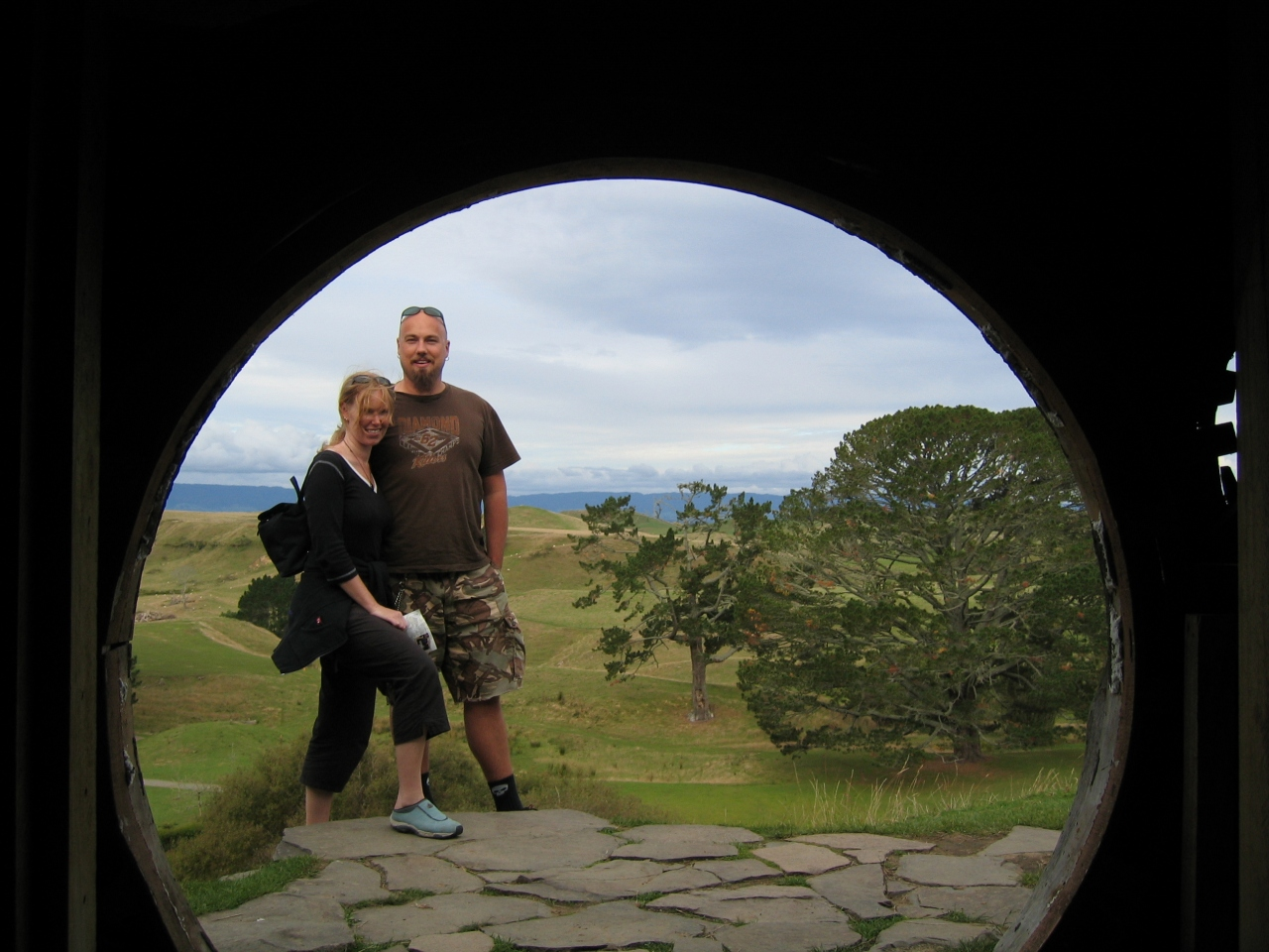 New Zealand's North Island, there and back again (two Norwegianstales)